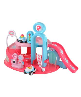 Whizz World Lights and Sounds Garage - Pink