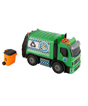 Big City Lights and Sounds Recycling Truck