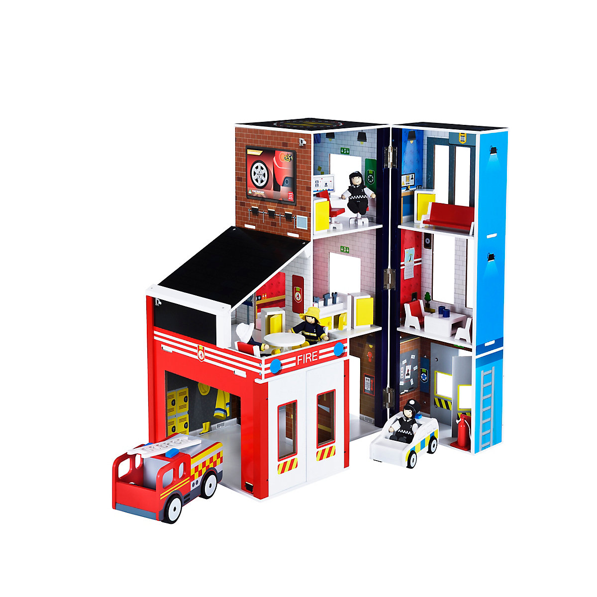 New ELC Boys and Girls Wooden Rescue Station Toy From 3 years - Early Learning Centre Gifts