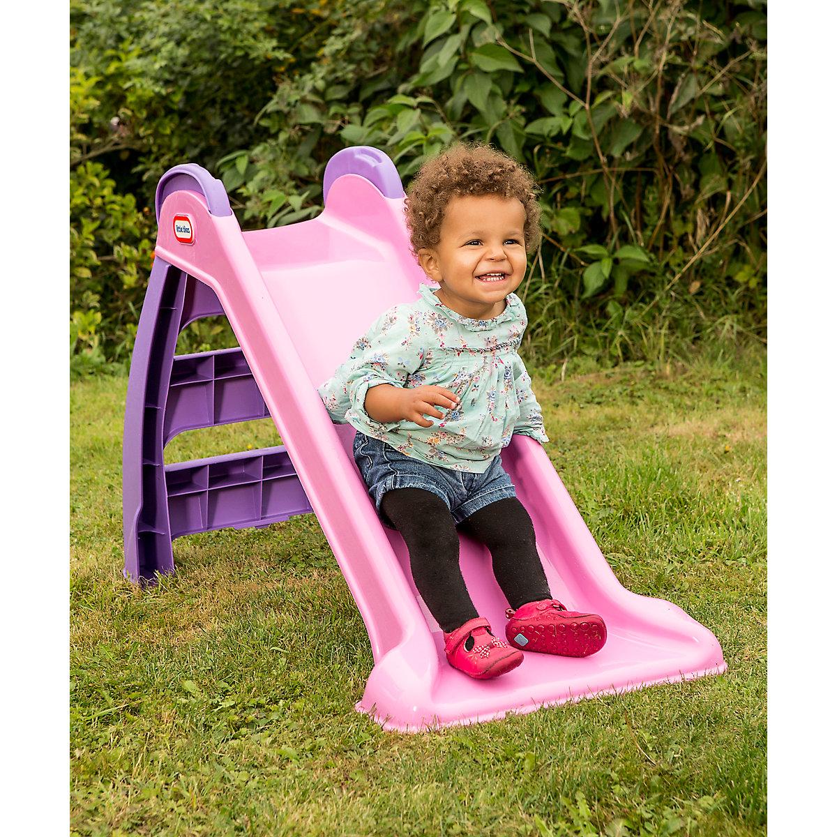Little Tikes First Slide   Pink/Purple