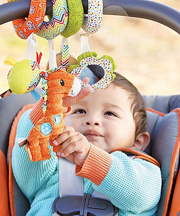 Infantino Go GaGa Spiral Car Seat Activity Toy
