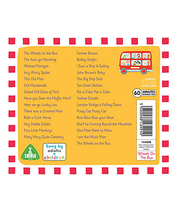 Wheels On The Bus and Other Travelling Songs CD