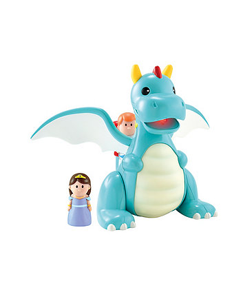 Happyland Lights and Sounds Dragon Playset