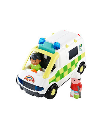 Happyland Lights and Sounds Ambulance