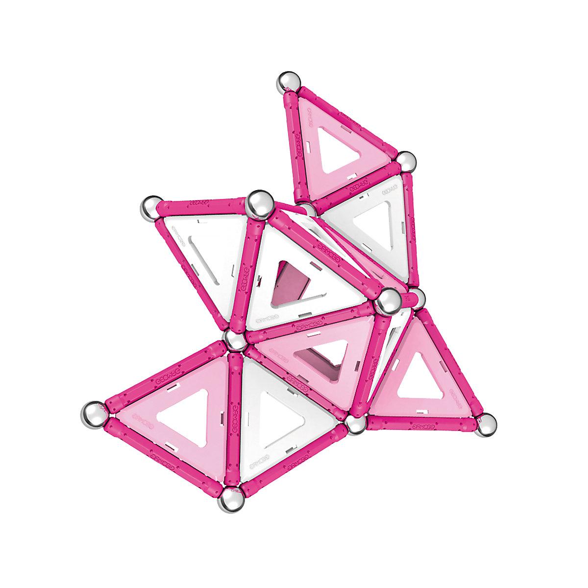 Geomag Pink   68 Piece Set