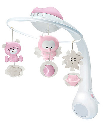 Infantino 3 In 1 Projector Mobile Pink