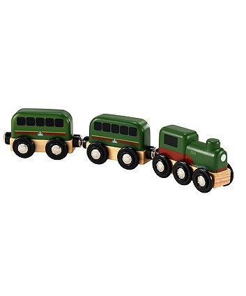 Wooden Steam Train
