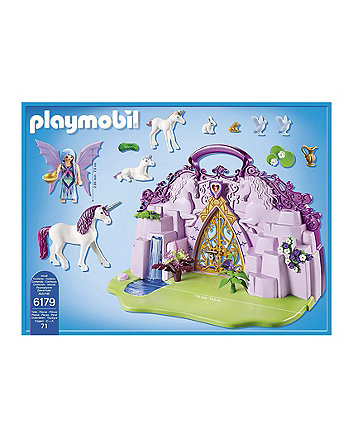Playmobil fairies take along fairy unicorn garden 6179