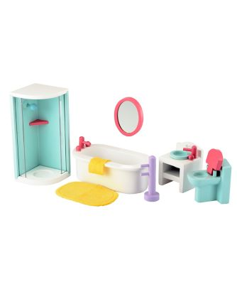 Rosebud Splash Bathroom
