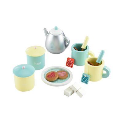 Wooden Teatime Set