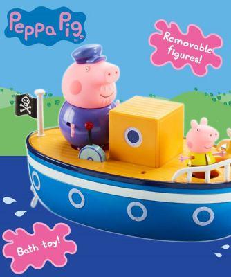 Peppa Pig Grandpa Pigs Bathtime Boat