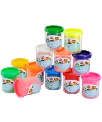 Soft Stuff Doh Tubs - 12