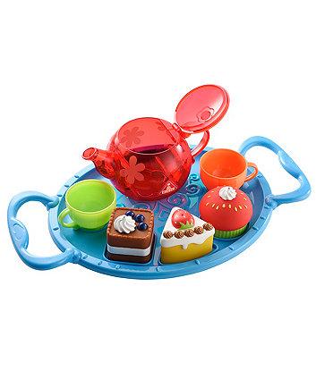 Bathtime Tea Party - Blue