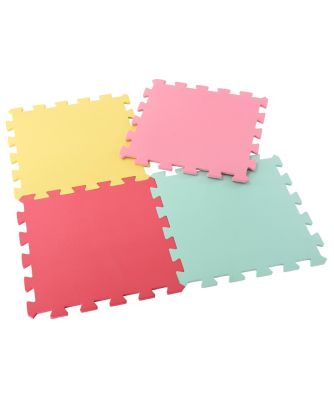 Pink Recreation Mats - 4 Pack