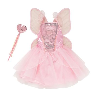 Fairy Dress with Wings and Wand