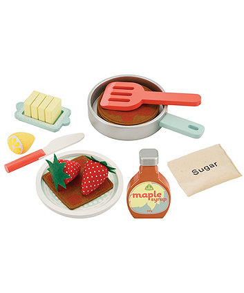 Wooden Pancake Set