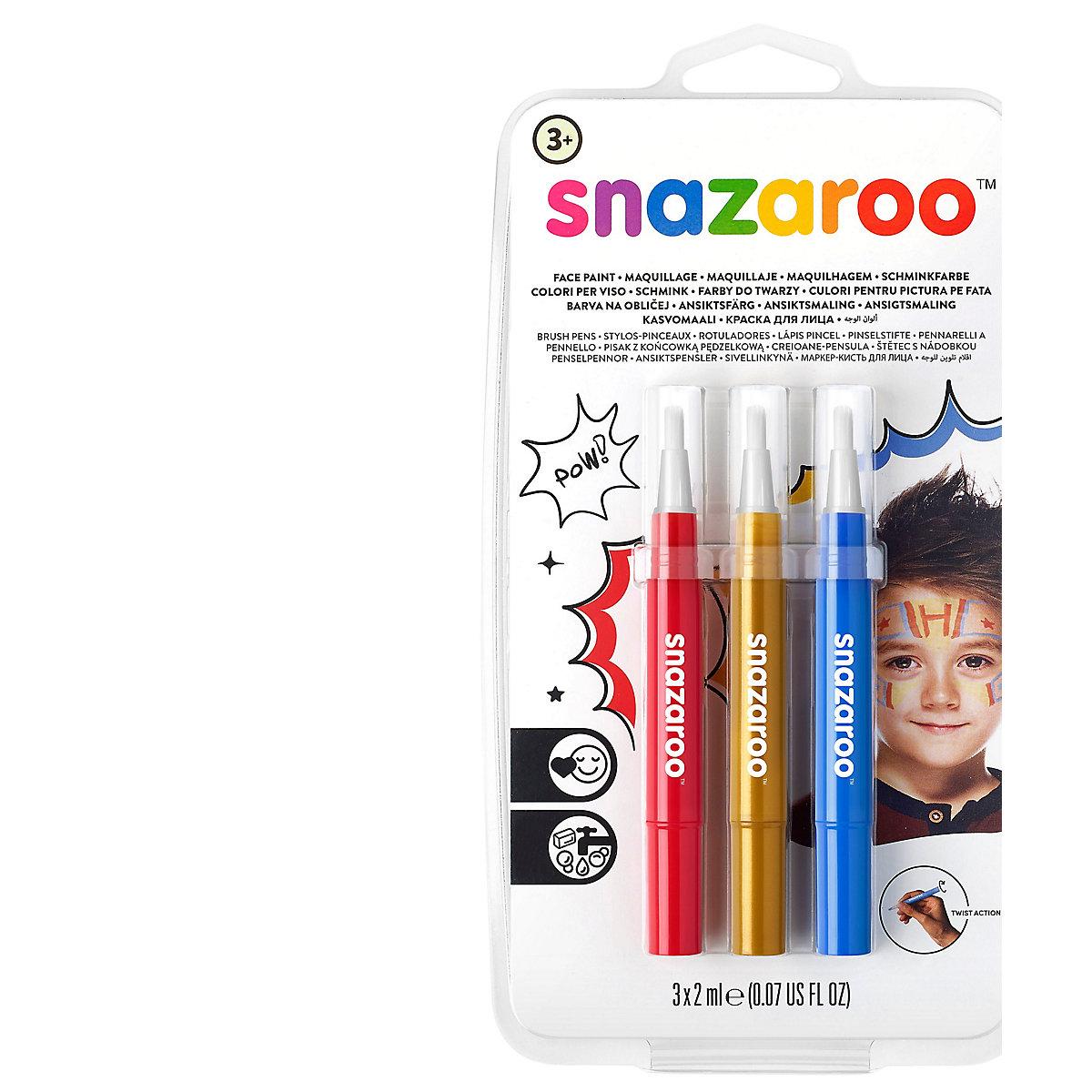 Snazaroo Adventure Brush Pens Set