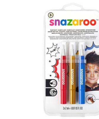 Snazaroo Adventure Brush Pens Set