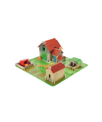 Wooden Classic Farm Playset