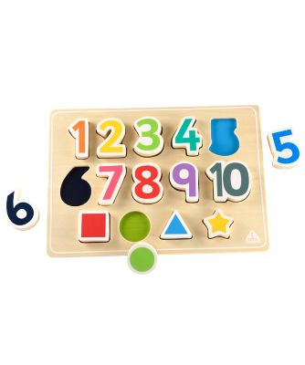 Shape And Number Puzzle