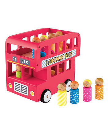 elc wooden london bus