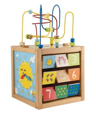 Giant Wooden Activity Cube
