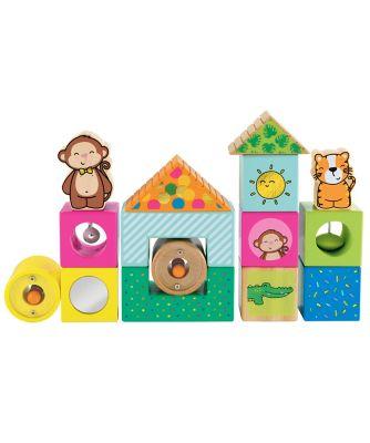 Wooden Activity Bricks