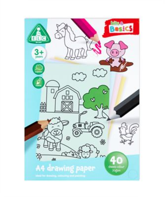 A4 Coloured Paper 40 Sheets