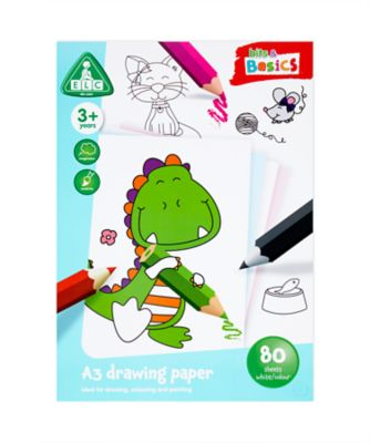 A3 Coloured Paper 80 Sheets