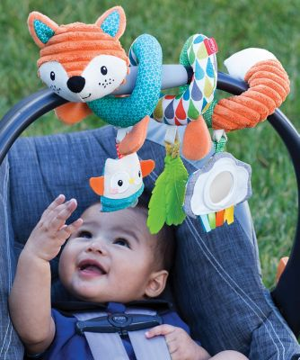 Infantino Spiral Activity Toy Fox *Exclusive*