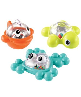 Bath Time Rattle and Roll Friends