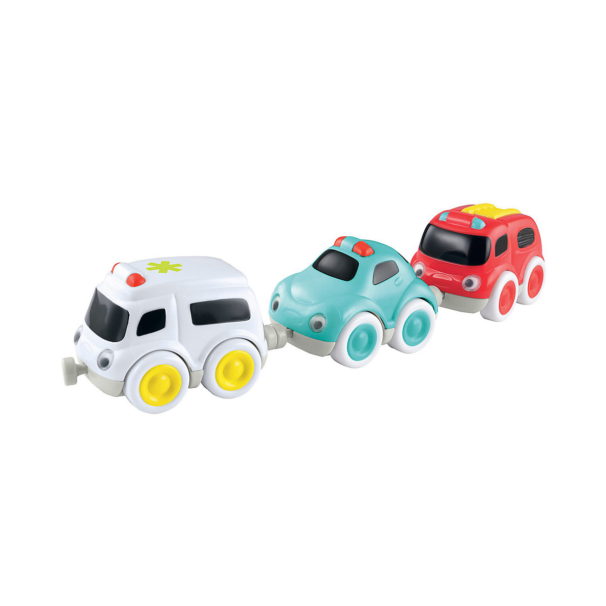 Whizz World Emergency Magnetic Trio Set