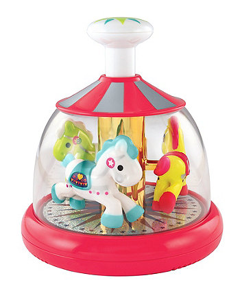 Push and Spin Carousel