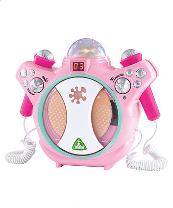 Pink Sing Along CD Player