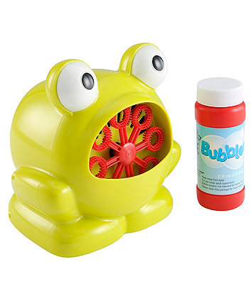 Frog Bubble Machine