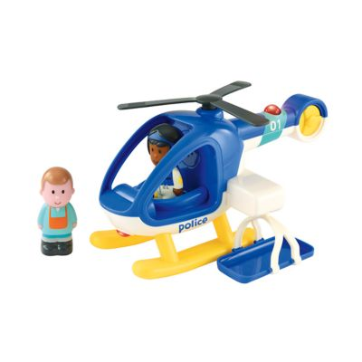 Happyland Lights and Sounds Police Helicopter