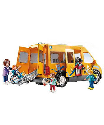 Playmobil City Life School Van with Folding Ramp 9419
