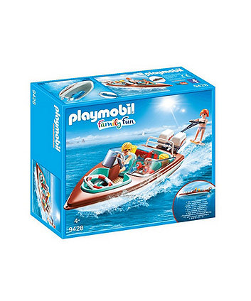 Playmobil Family Fun Floating Speedboat 9428