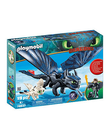Playmobil DreamWorks Dragons Hiccup and Toothless 70037