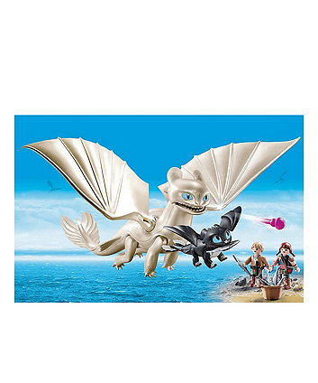 Playmobil DreamWorks Dragons Light Fury with Baby Dragon 70038