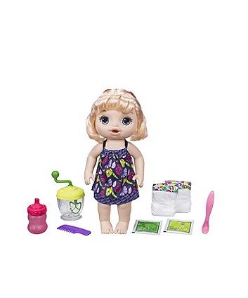 Baby Alive Sweet Spoonfuls Baby Blonde Hair Doll