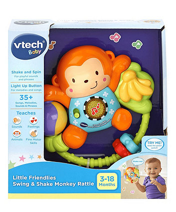 VTech Little Friendlies Swing and Shake Monkey Rattle