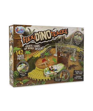 Jack's Flexi Dino Tracks Playset