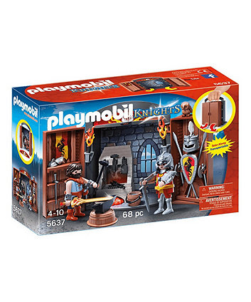 Playmobil Knights' Armoury Play Box - 5637