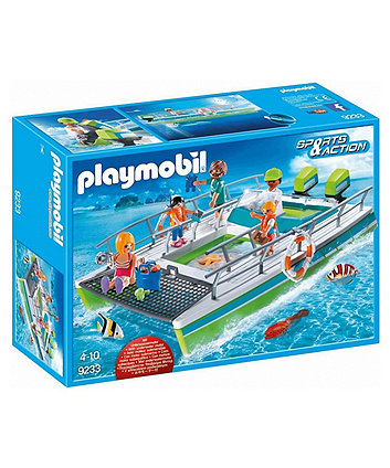 Playmobil glass-bottom boat