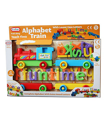 Fun Time Alphabet Train with Carriages and Letters
