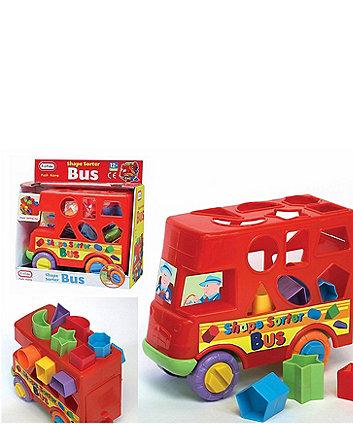 Fun Time Shape Sorter Bus