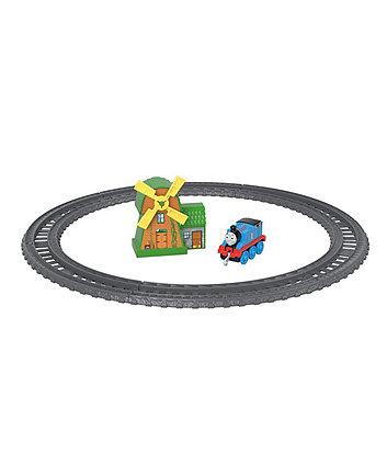 Fisher-Price Thomas & Friends TrackMaster - Thomas & The Windmill Metal Train Engine Playset