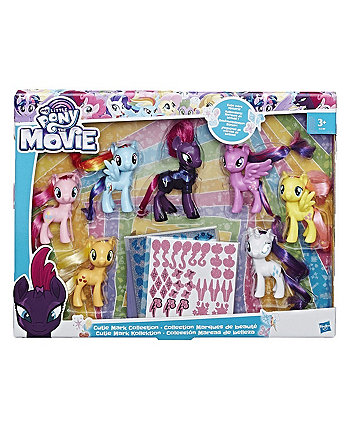 My Little Pony Movie - Cutie Mark Collection Figures