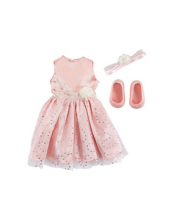 B Friends Shimmer and Sparkle Dress